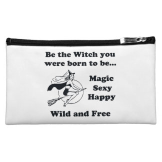 Born To Be A Witch Makeup Bag