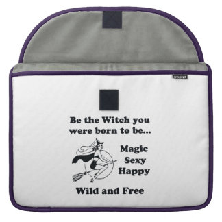 Born To Be A Witch Sleeve For MacBook Pro
