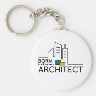 Born To be an Architect Keychain