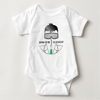 Born To Be Scientist Baby Bodysuit