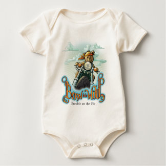 Born to be Wild Customizable Text Baby Bodysuit