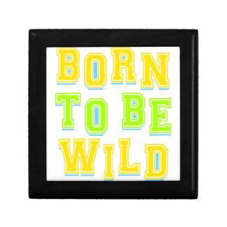 Born to be wild kid design gift box
