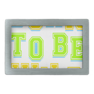 Born to be wild kid design rectangular belt buckles