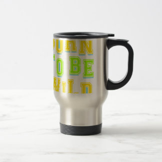 Born to be wild kid design travel mug