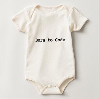 Born to Code Onesey Baby Bodysuit