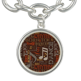 Born to Dance Brown ID277 Bracelet