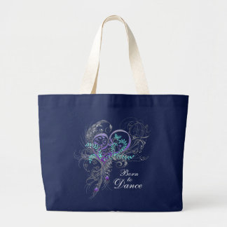 Born to Dance Dark Tote Bag