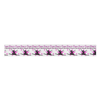 BORN TO DANCE GROSGRAIN RIBBON