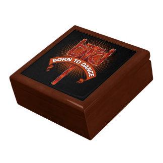Born To Dance (Redstone) Trinket Box