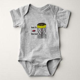 Born to Disc Golf baby onsie body suit Baby Bodysuit