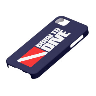 Born To Dive iPhone 5 Case