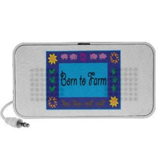 Born To Farm iPod Speakers