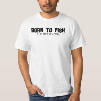 Born To Fish Bass Frame T-Shirt