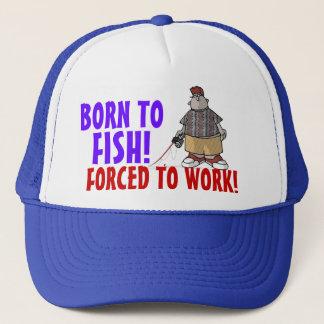 Born to Fish Cap