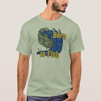 Born to Fish Fishing TShirt