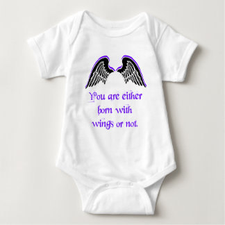 Born to fly baby bodysuit