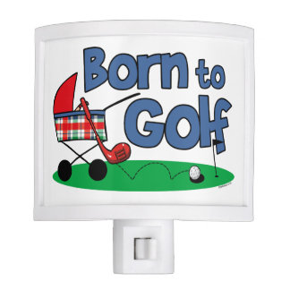 Born To Golf Night Lights