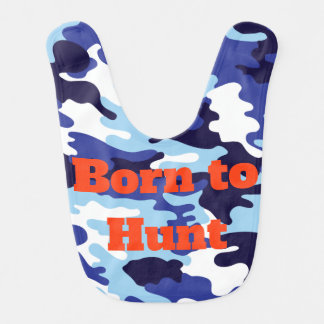 Born to Hunt Future Hunter Camo Army Colors Hunter Bib
