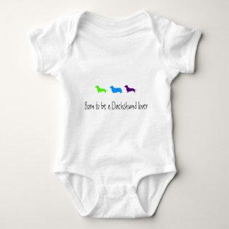 Born to love Dachshunds T-shirts