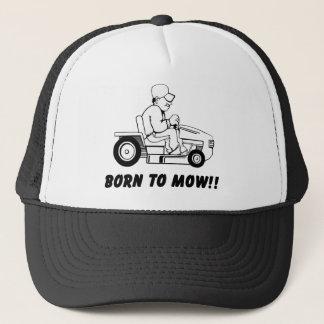 Born To Mow Trucker Hat