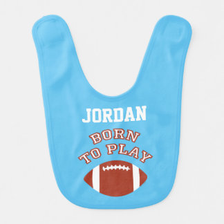 Born To Play Football Bibs