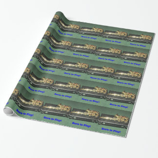 Born to Play (Saxaphone) Wrapping Paper