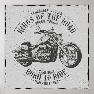 Born to Ride Wallart Poster