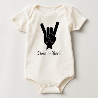 Born to Rock! Baby Bodysuit