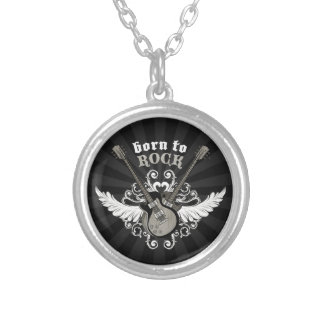 Born To Rock Vintage Guitars necklace