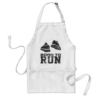 Born To Run Standard Apron