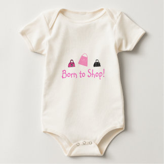 Born to Shop - Baby or Tee