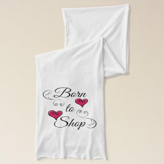 Born to Shop Hearts Scarf