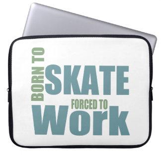 Born To Skate Laptop Sleeve