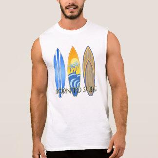 Born To Surf Sleeveless Shirt