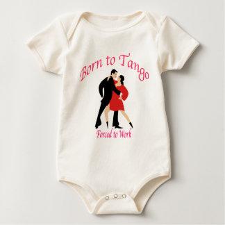 BORN TO TANGO BABY BODYSUIT