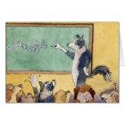 Born To Teach - Thank you, Teacher CARD