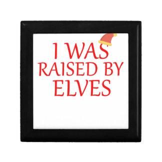 born with elves, gift elf, christmas, fairy shirt gift box