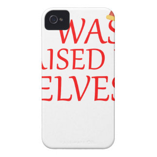 born with elves, gift elf, christmas, fairy shirt iPhone 4 case