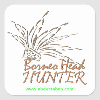 Borneo Headhunter Sticker