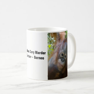 Borneo Orangutan Orphan Rescued by OFI Coffee Mug