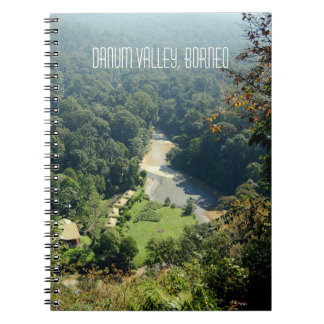 Borneo Rainforest Jungle Aerial View Souvenir Notebooks