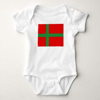 Bornholm Denmark flag region province symbol Baby Bodysuit