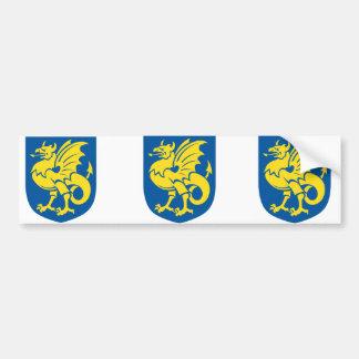bornholms, Denmark Bumper Sticker