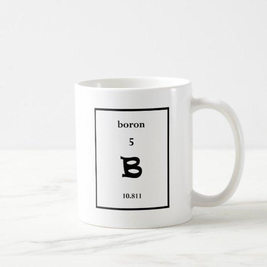 boron coffee mug