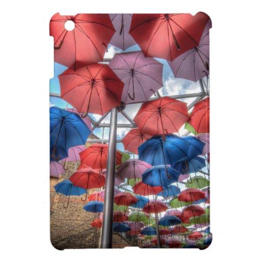 Borough Market umbrella art, London Case For The iPad Mini