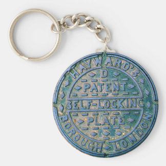 Borough of London Utility Cover Keychain