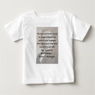 Borrow Words - Booket T Washington Baby T-Shirt