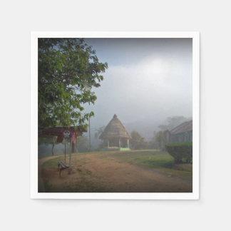 Boruca - Costa Rica Experience in a Remote Village Paper Napkin