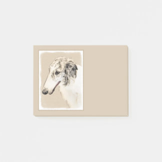 Borzoi 2 post-it notes