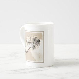 Borzoi 2 tea cup